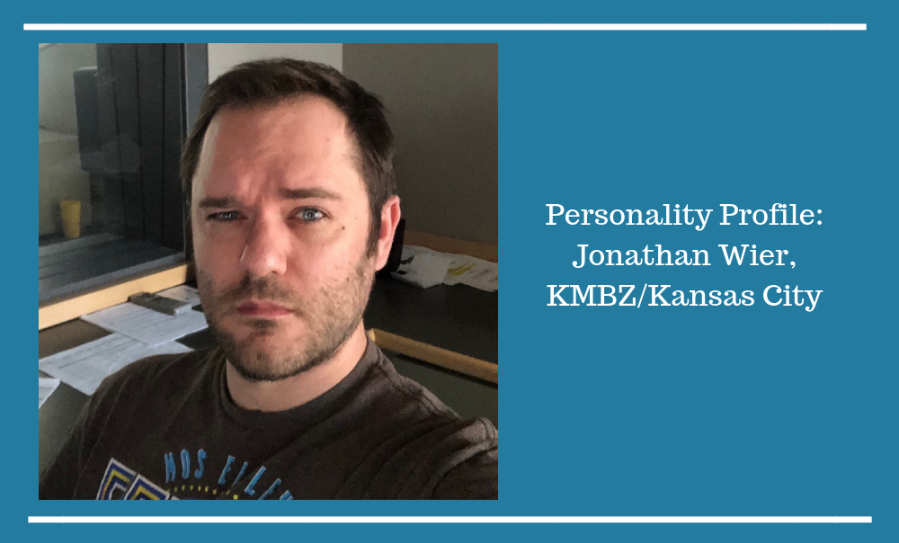 Personality Profile: Jonathan Wier – #1 in Kansas City